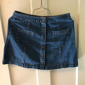 Forever 21 Button Down Skirt